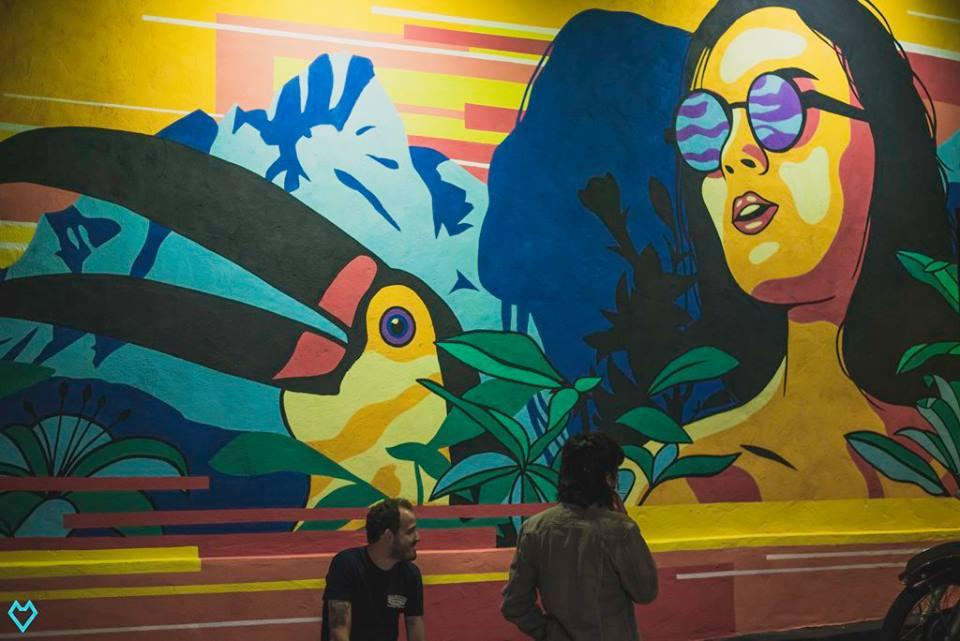 Música e arte sem couvert, no Setor Sul
