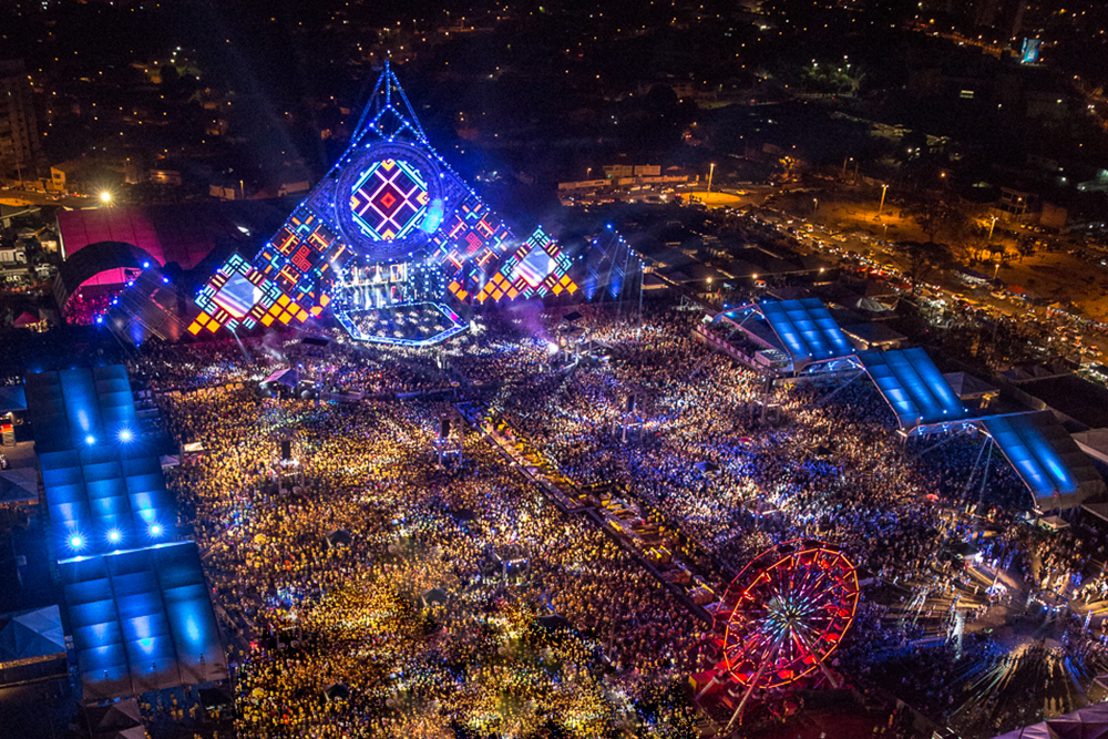 VillaMix Festival tem megaestrutura com 15 mil m²