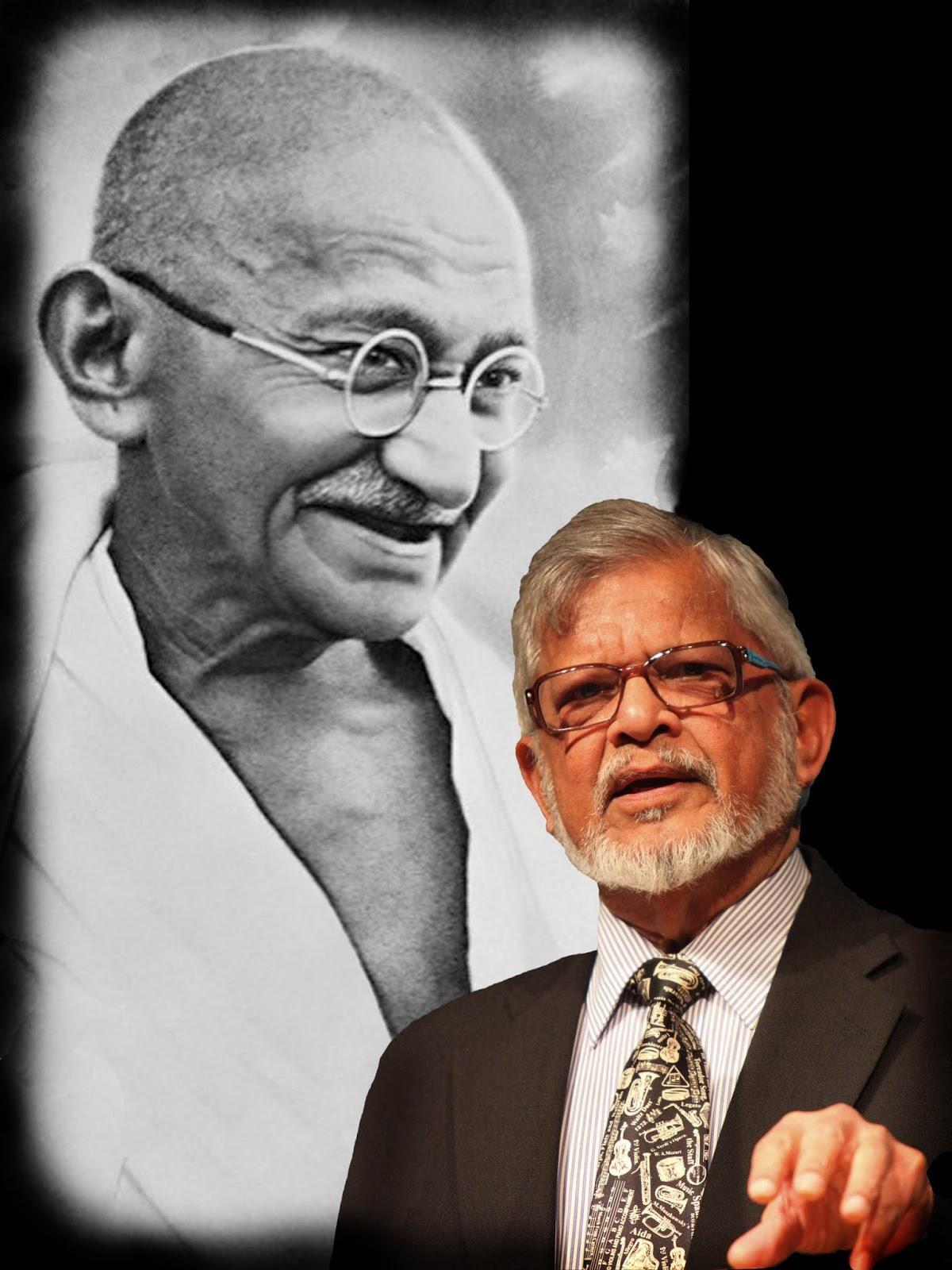 Neto de Mahatma Gandhi faz palestra inédita em Goiânia