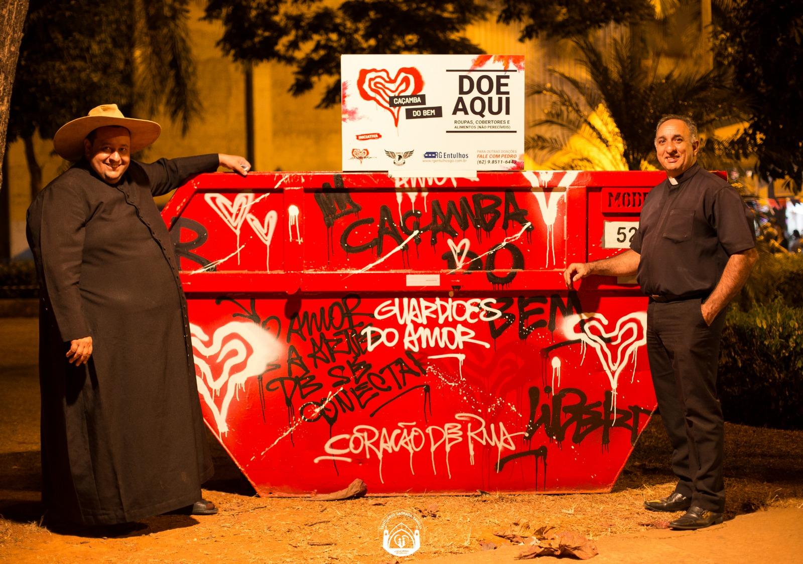Homero organiza campanha de doação pelas ruas de Goiânia