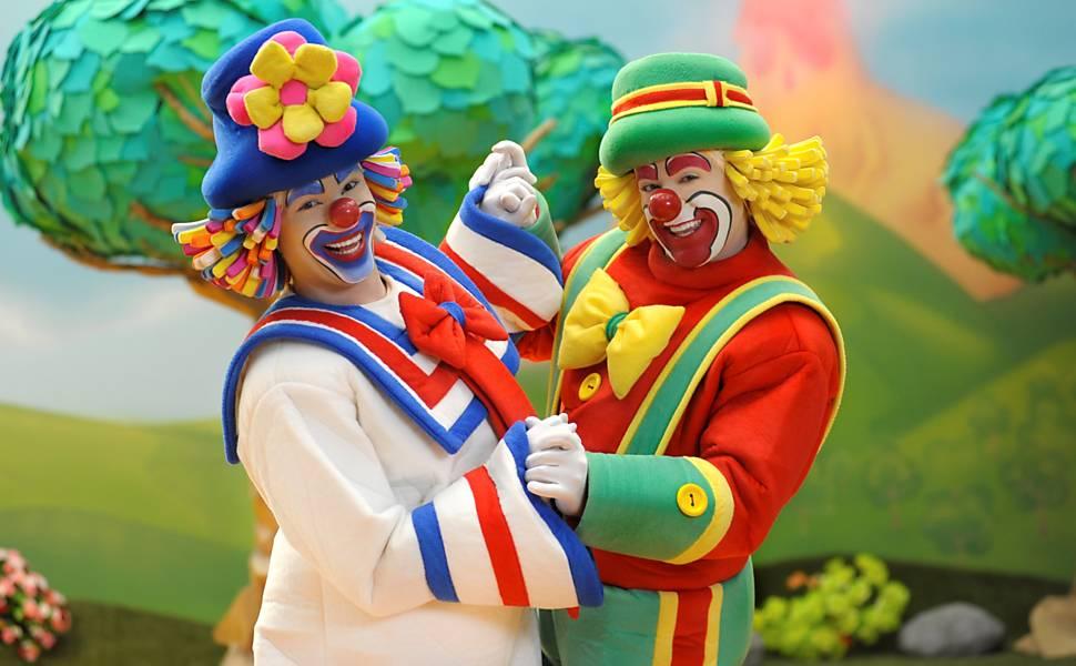 Patati Patatá se apresentam em circo, em Goiânia