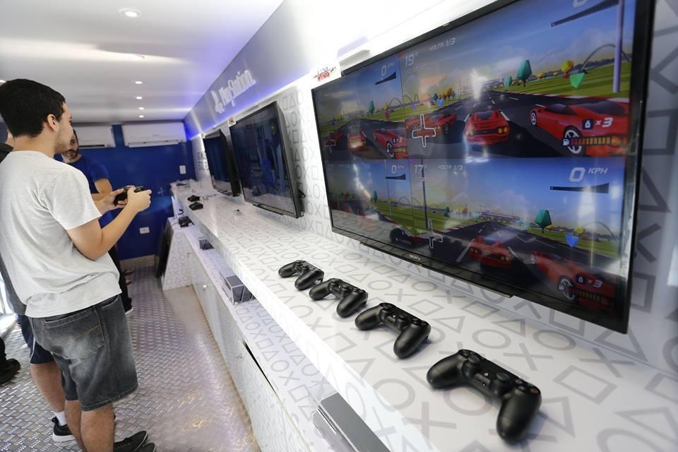 PlayStation na Estrada oferece ações gratuitas para fãs de games