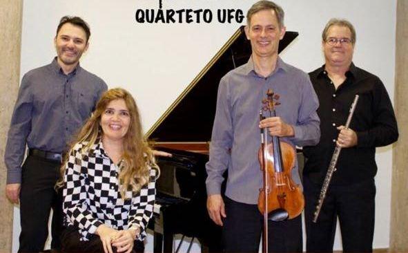 Terça Tem Música recebe Quarteto UFG em apresentação gratuita