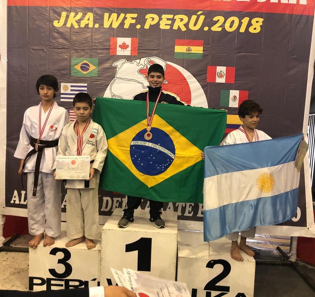 Jovem goiano leva primeiro lugar no Pan-americano de Karatê