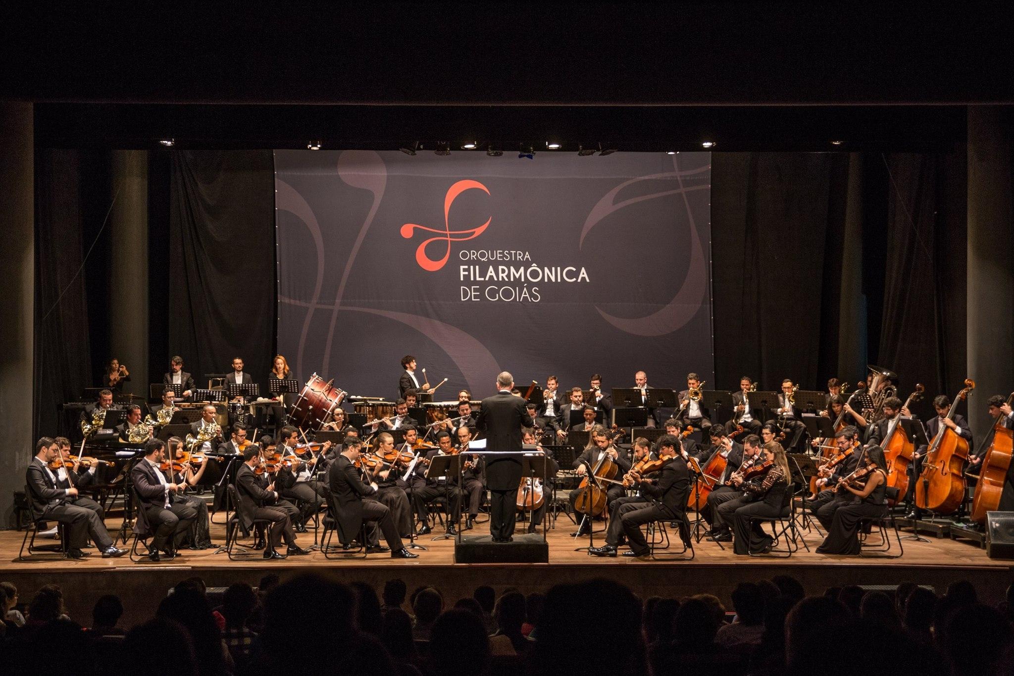 Filarmônica de Goiás realiza concerto gratuito no Teatro Goiânia