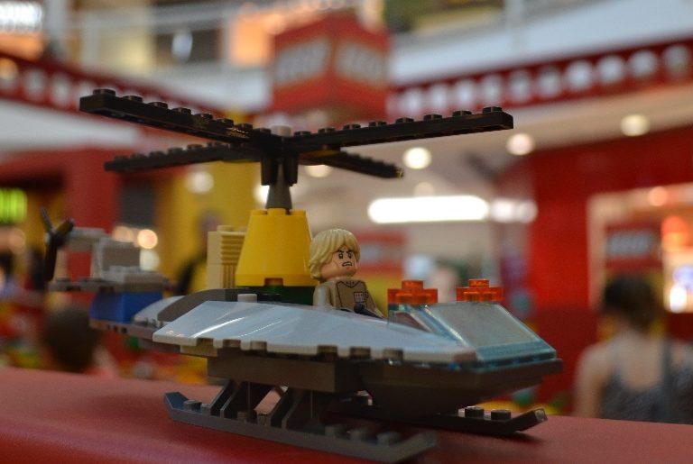 Lego promove ação em shopping da Capital na semana das crianças