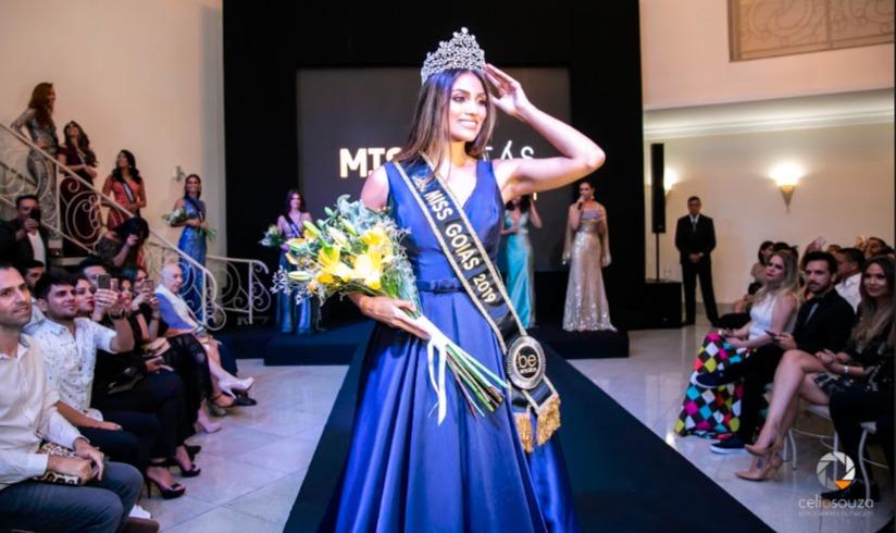 Representante de Aparecida de Goiânia vence o concurso Miss Goiás 2019