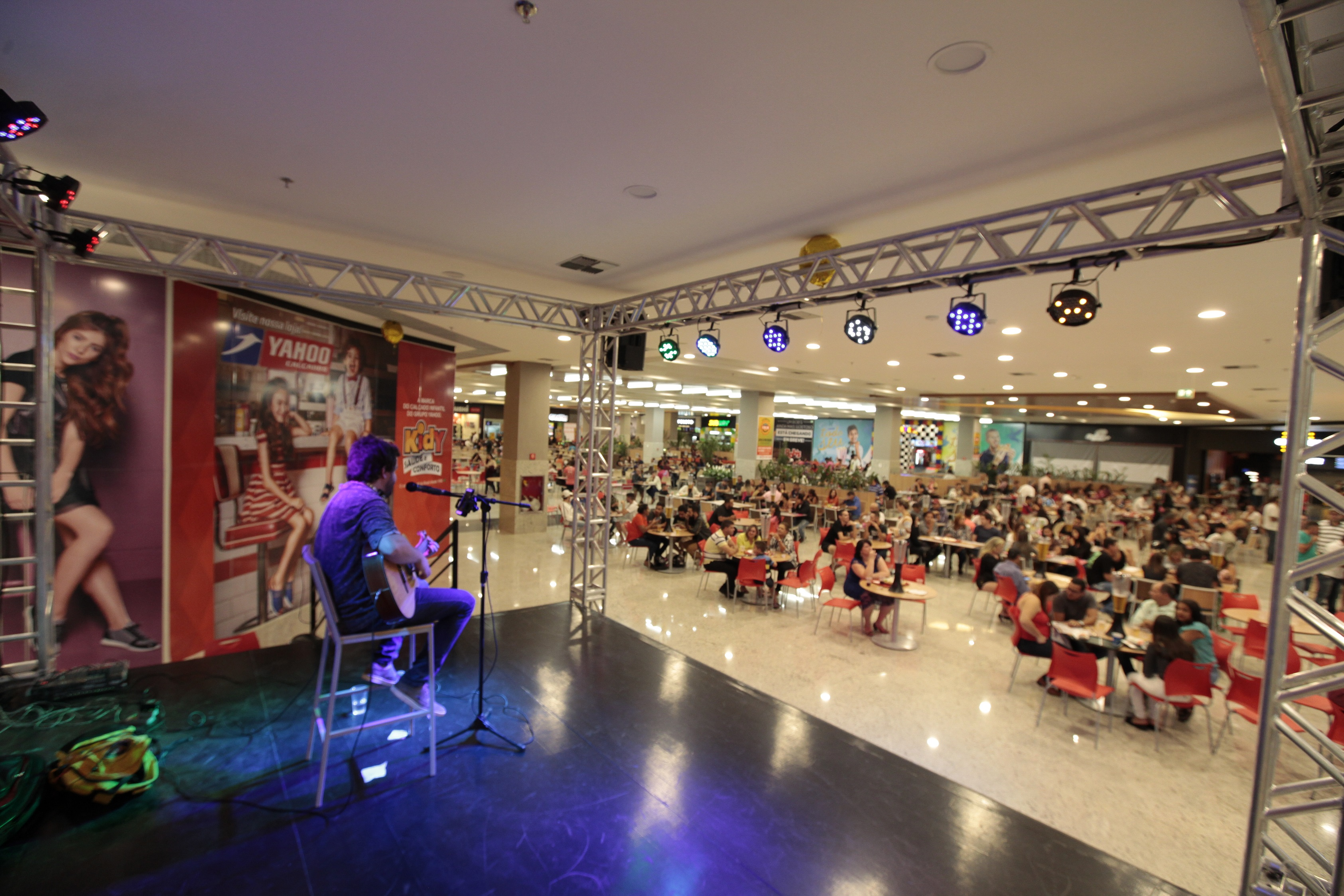 Inscrições para Festival de Talentos no Aparecida Shopping terminam na sexta-feira (23)