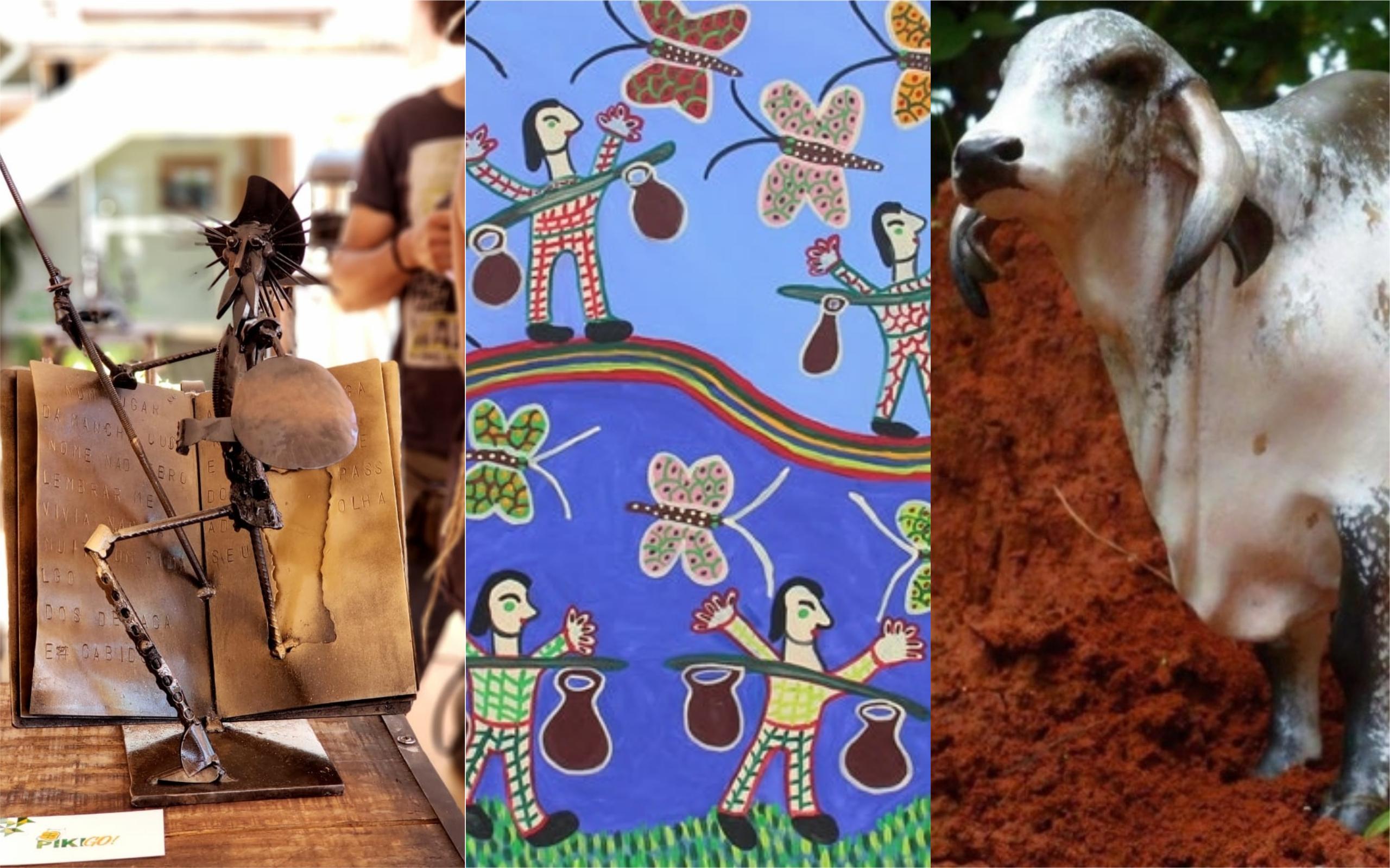 Hotel em Aparecida de Goiânia recebe exposição de artistas goianos