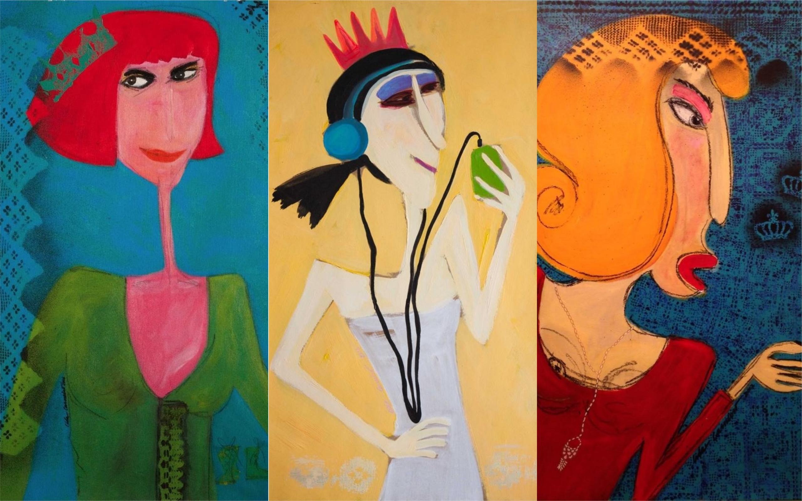 Lowbrow inaugura exposição 'Feminino Entretramas' com shows de Cadu Portela e Diego Falk