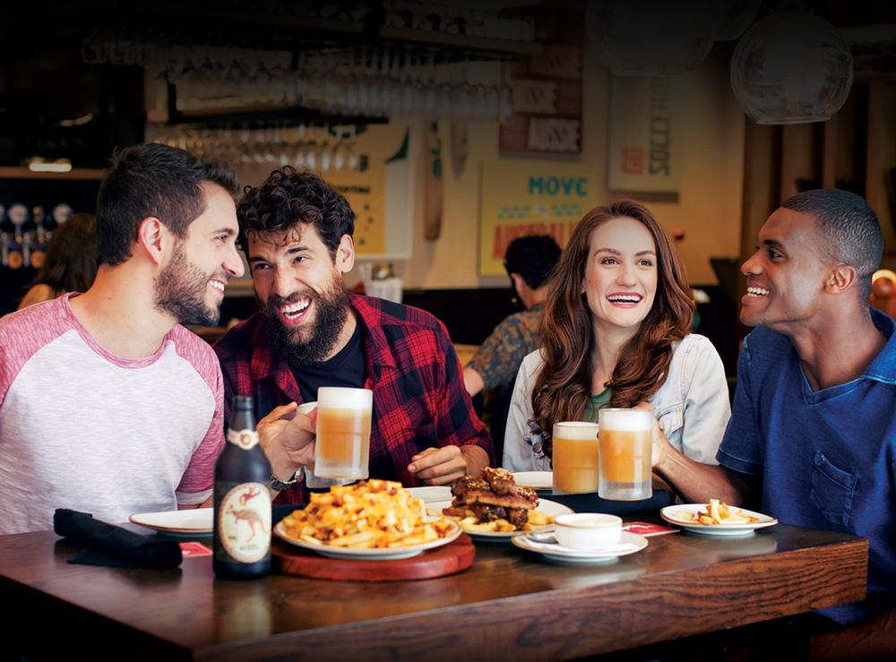 Outback oferece menu para grupos com preços fixos para celebrar o fim de ano