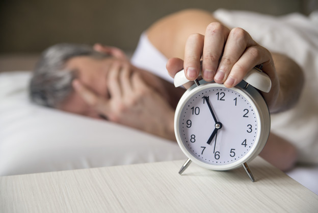 O despertador tocou novamente…