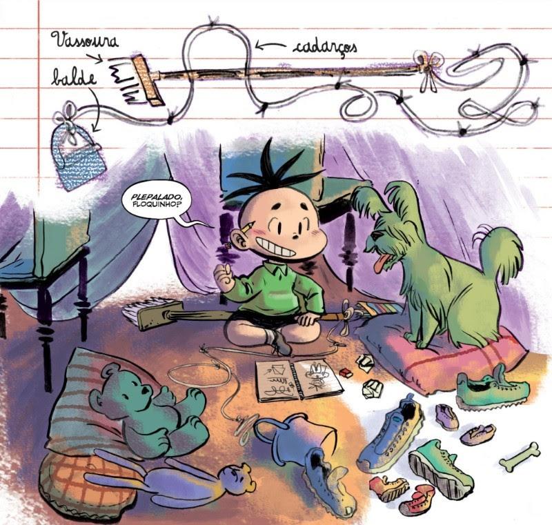 Gustavo Borges, quadrinista da graphic novel Cebolinha, vem a Goiânia para noite de autógrafos