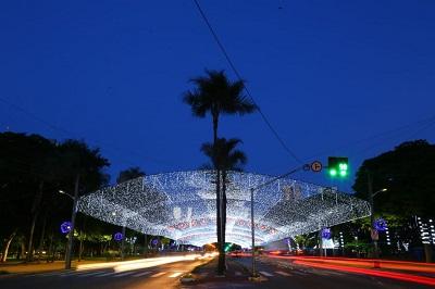 Prefeitura inaugura iluminação de Natal da Praça Tamandaré nesta quinta-feira (06)
