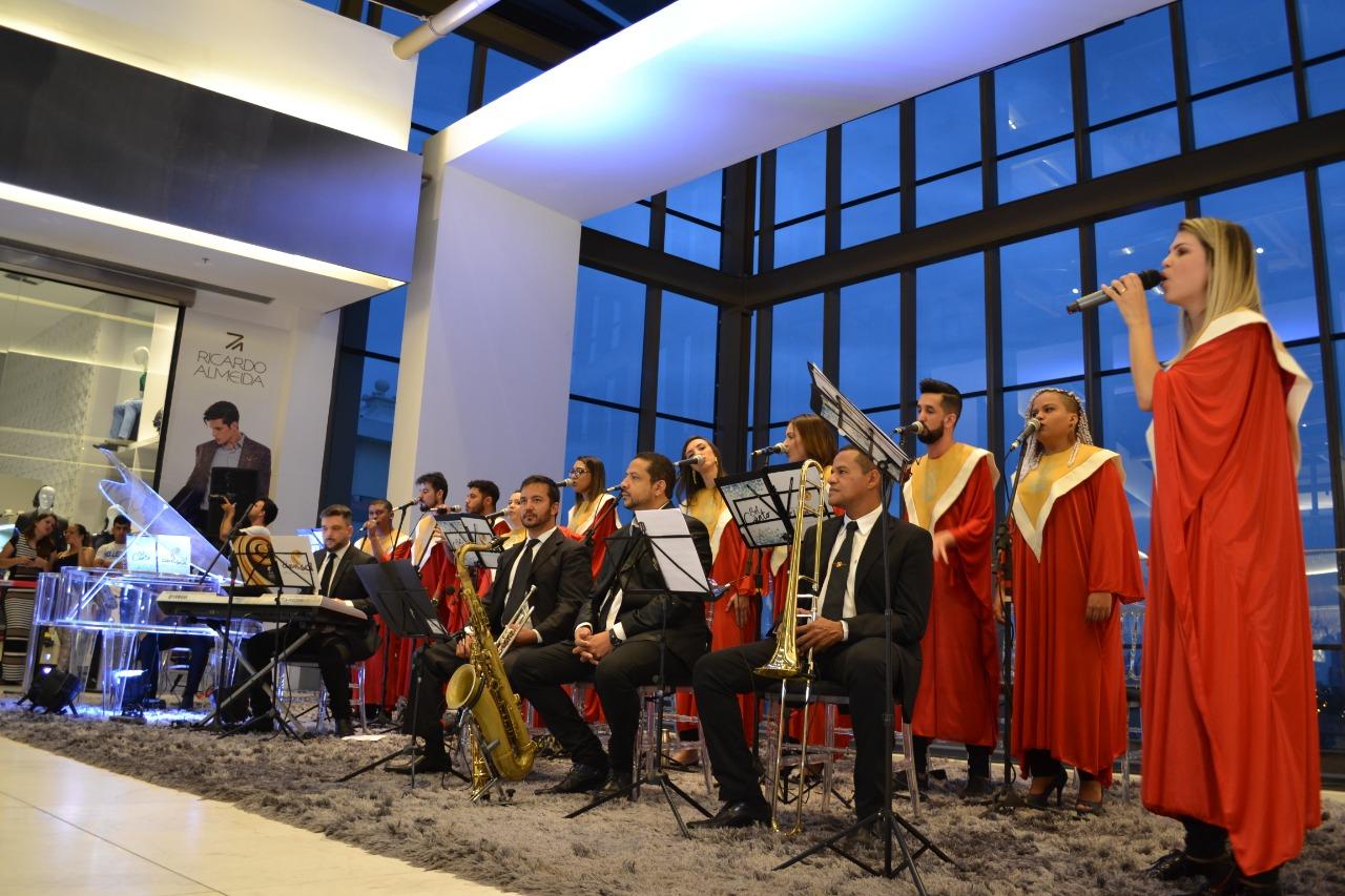 Shopping de Goiânia recebe última cantata do ano com Coral Clave de Sol