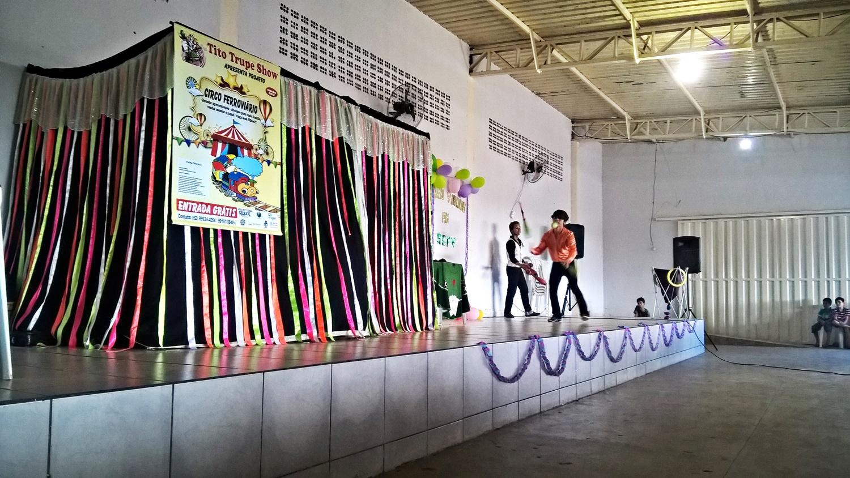 Goiânia recebe espetáculos do projeto Circo de Pau a Pique