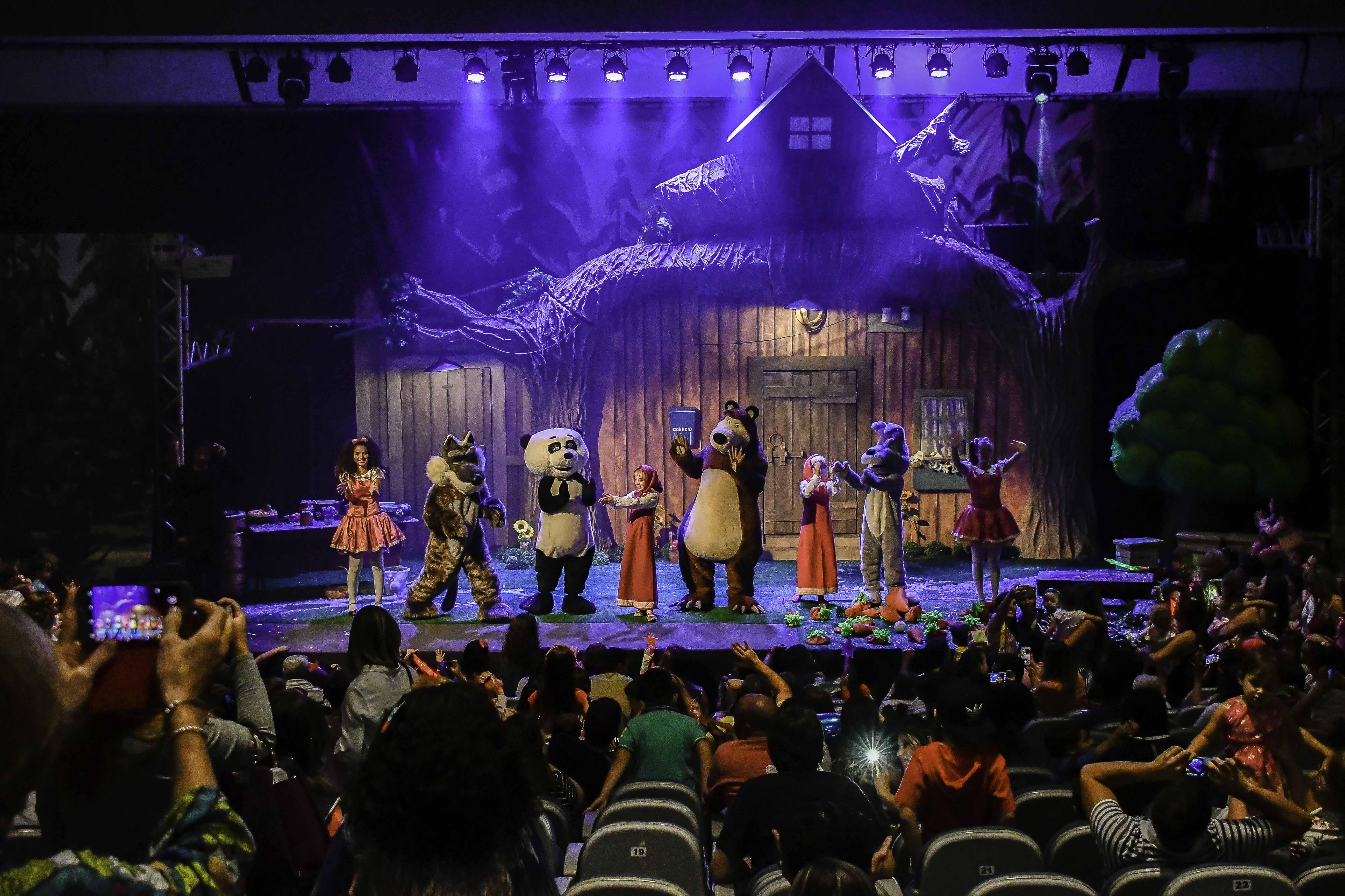 Espetáculo 'Masha e o Urso' chega a Goiânia neste domingo (09)
