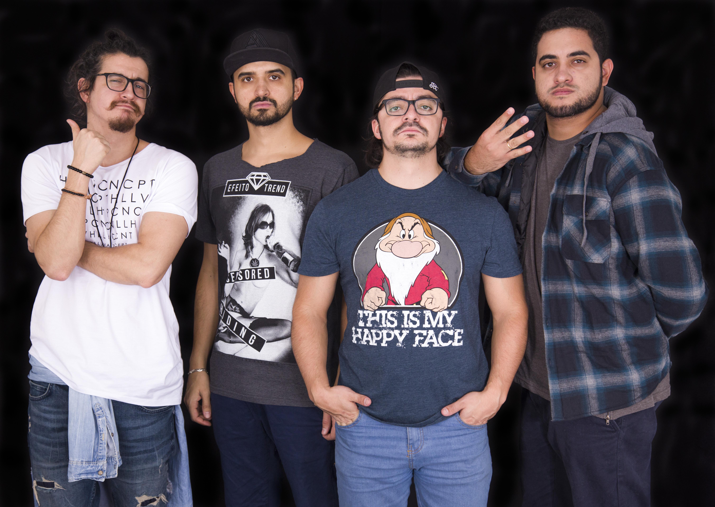 Stand up comedy 4 Amigos terá apresentação em Goiânia neste final de semana