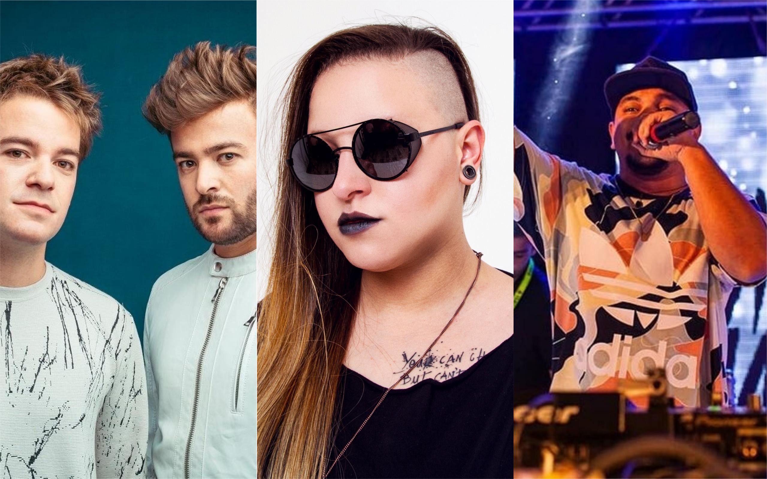 DubDogz, Groove Delight e Baile do Mário se apresentam em Goiânia