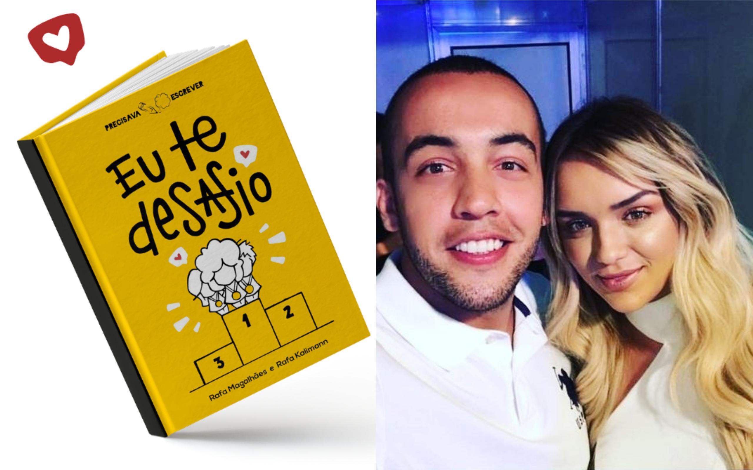 Rafa Kalimann e Rafael Magalhães lançam livro em Goiânia