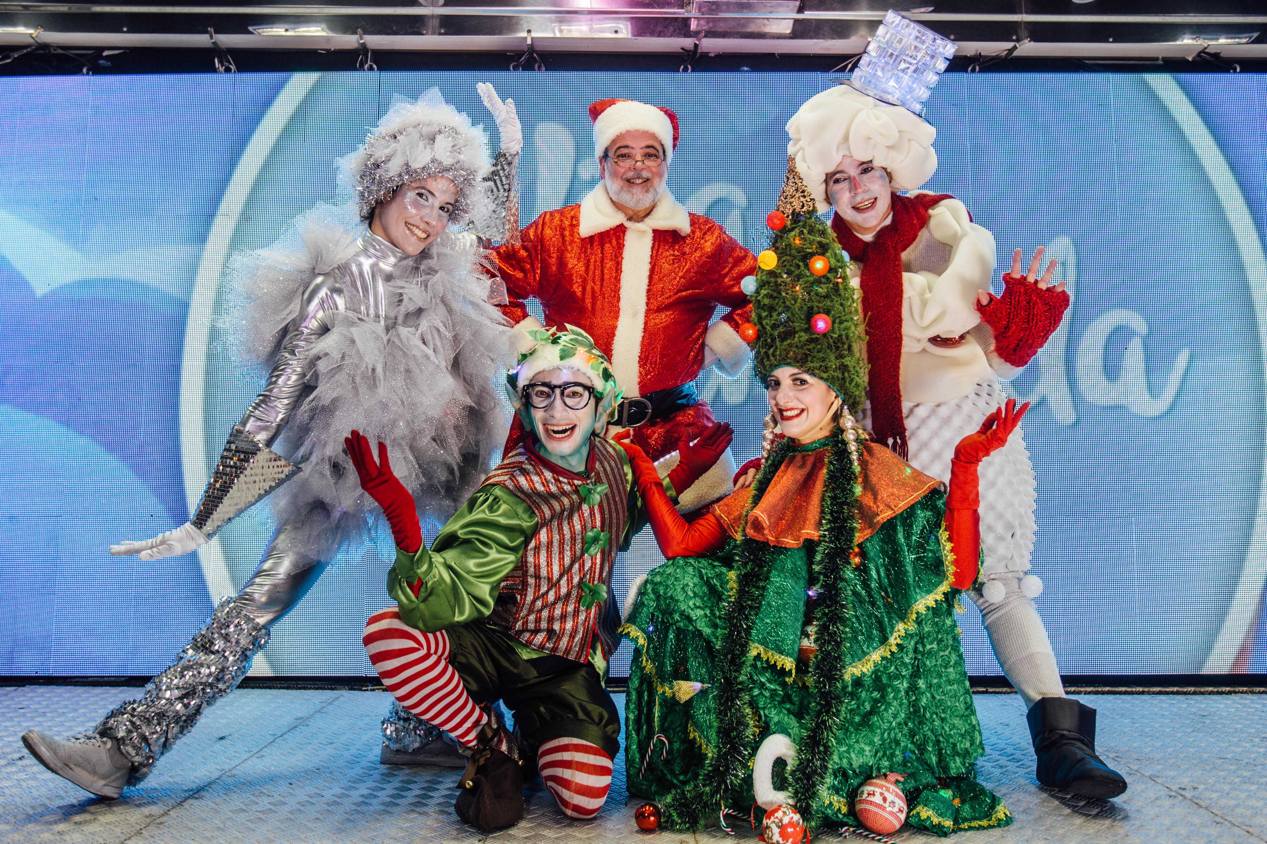 Enel apresenta a magia do Natal com teatro, cinema e muita diversão em shopping de Goiânia