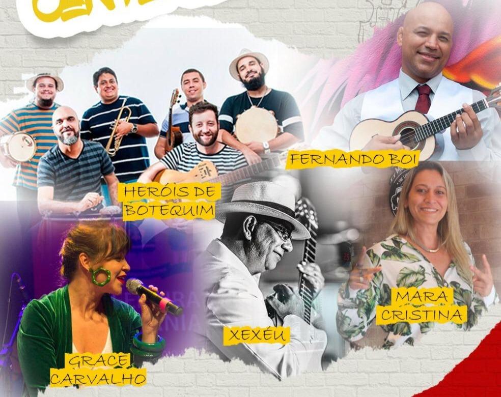 Grandes nomes da música goiana se reúnem para noite de samba