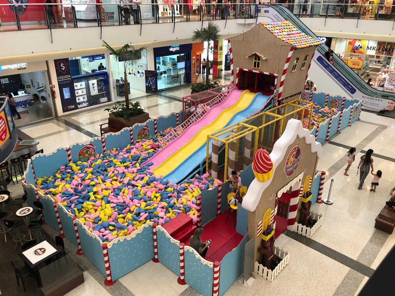 Shopping em Aparecida de Goiânia recebe 'O Incrível Mundo Doce'