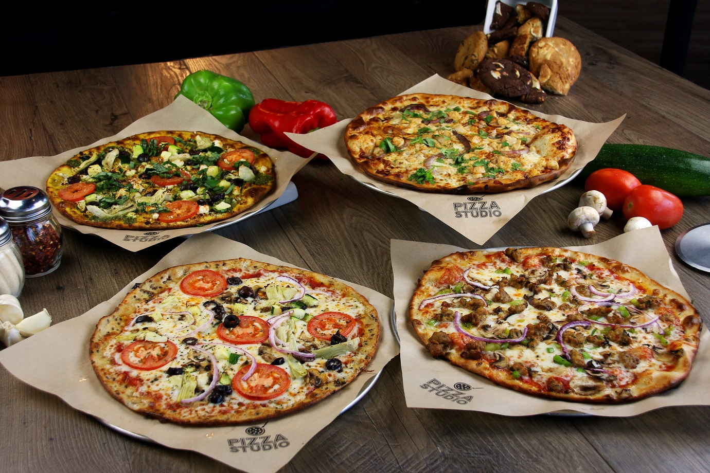 """Primeira franquia de pizzaria """"fast casual"""" chega a Goiânia"""
