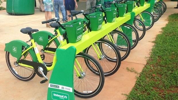 Goiânia ganha mais cinco estações de bicicletas compartilhadas