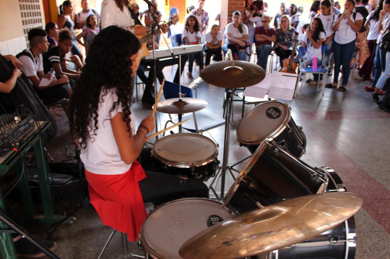 Projeto Ponto de Cultura abre inscrições para aulas de música gratuitas em Goiânia