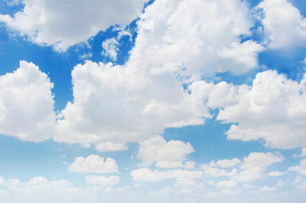 Pausa para ver as nuvens