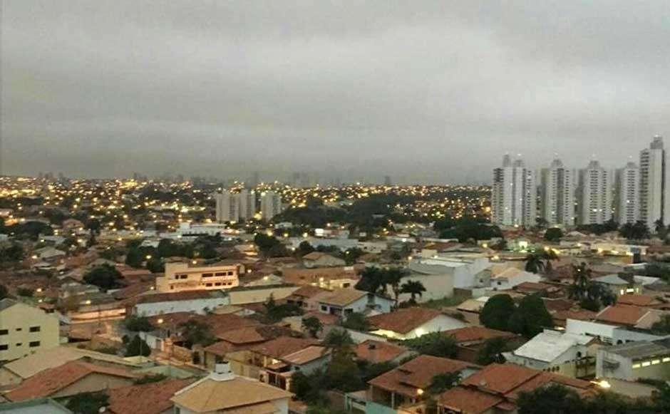 Frente fria chega a Goiás e pode provocar chuva forte e queda de granizo