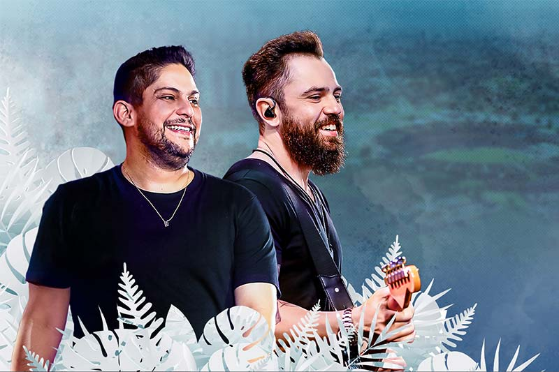 Goiânia recebe Jorge & Mateus Único neste domingo (17)