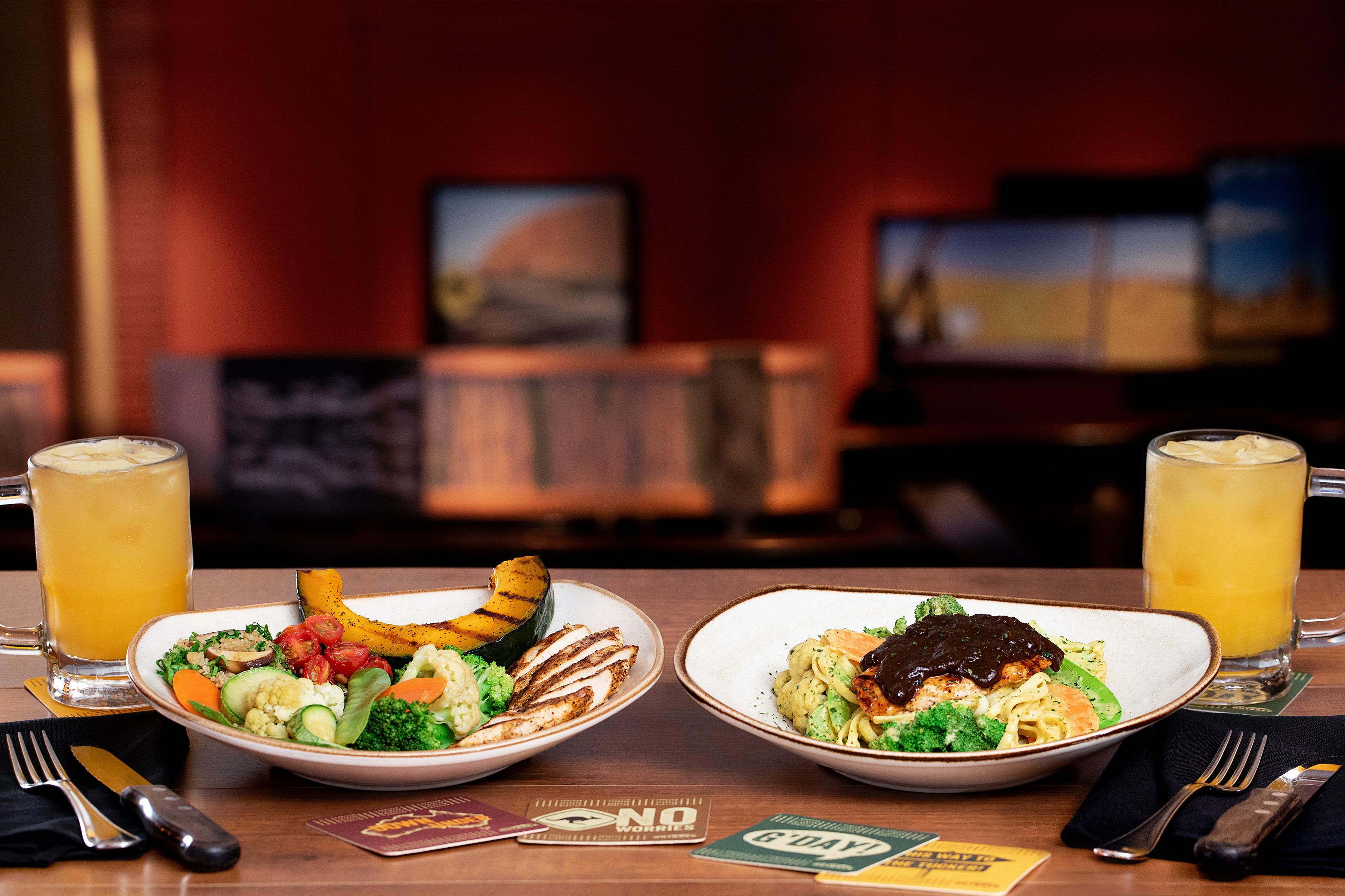 Outback lança opções de pratos fit sem abrir mão do sabor