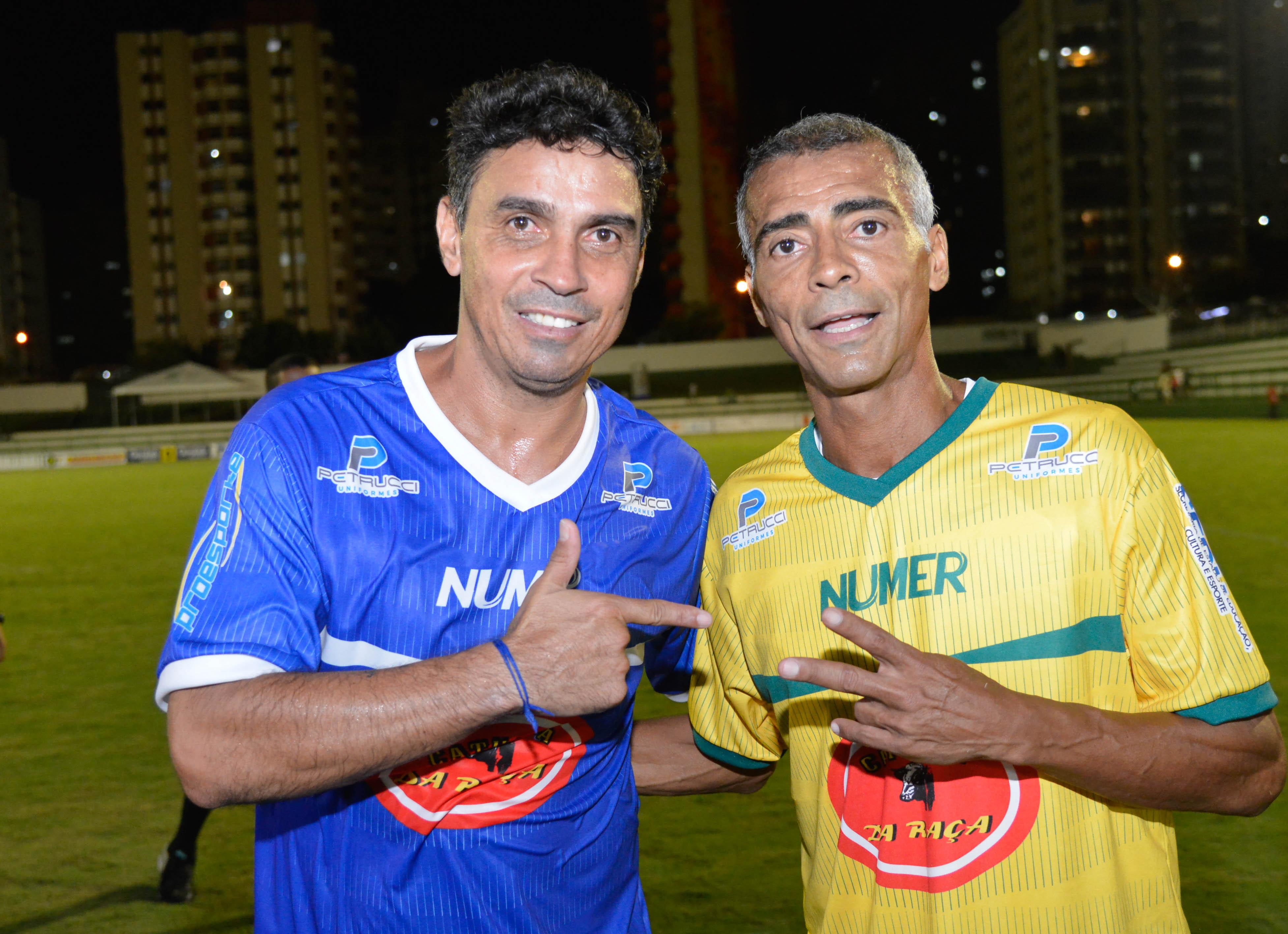 Futebol Solidário com Alex Dias e Romário já tem data para acontecer em Goiânia