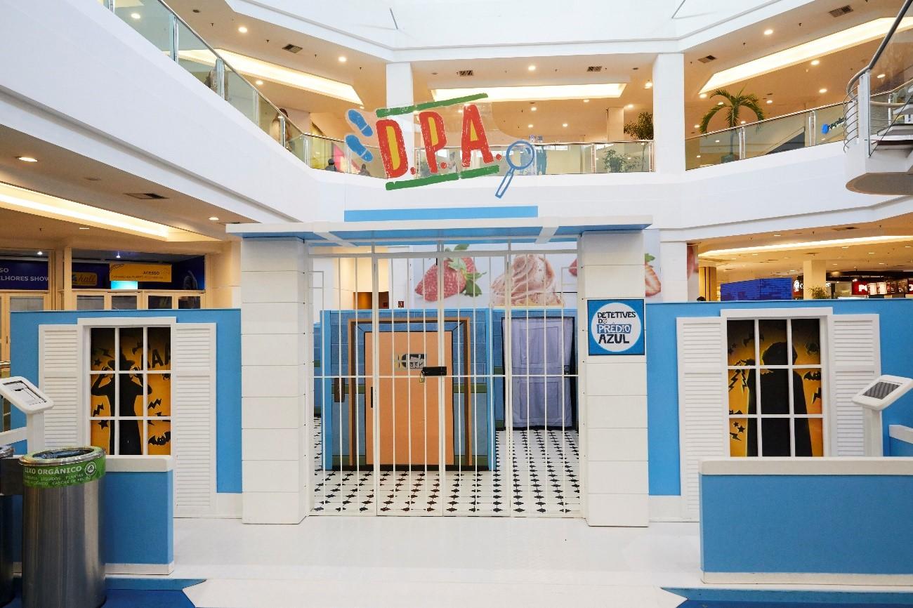 """Circuito da série """"Detetives do Prédio Azul"""" chega a shopping de Goiânia"""