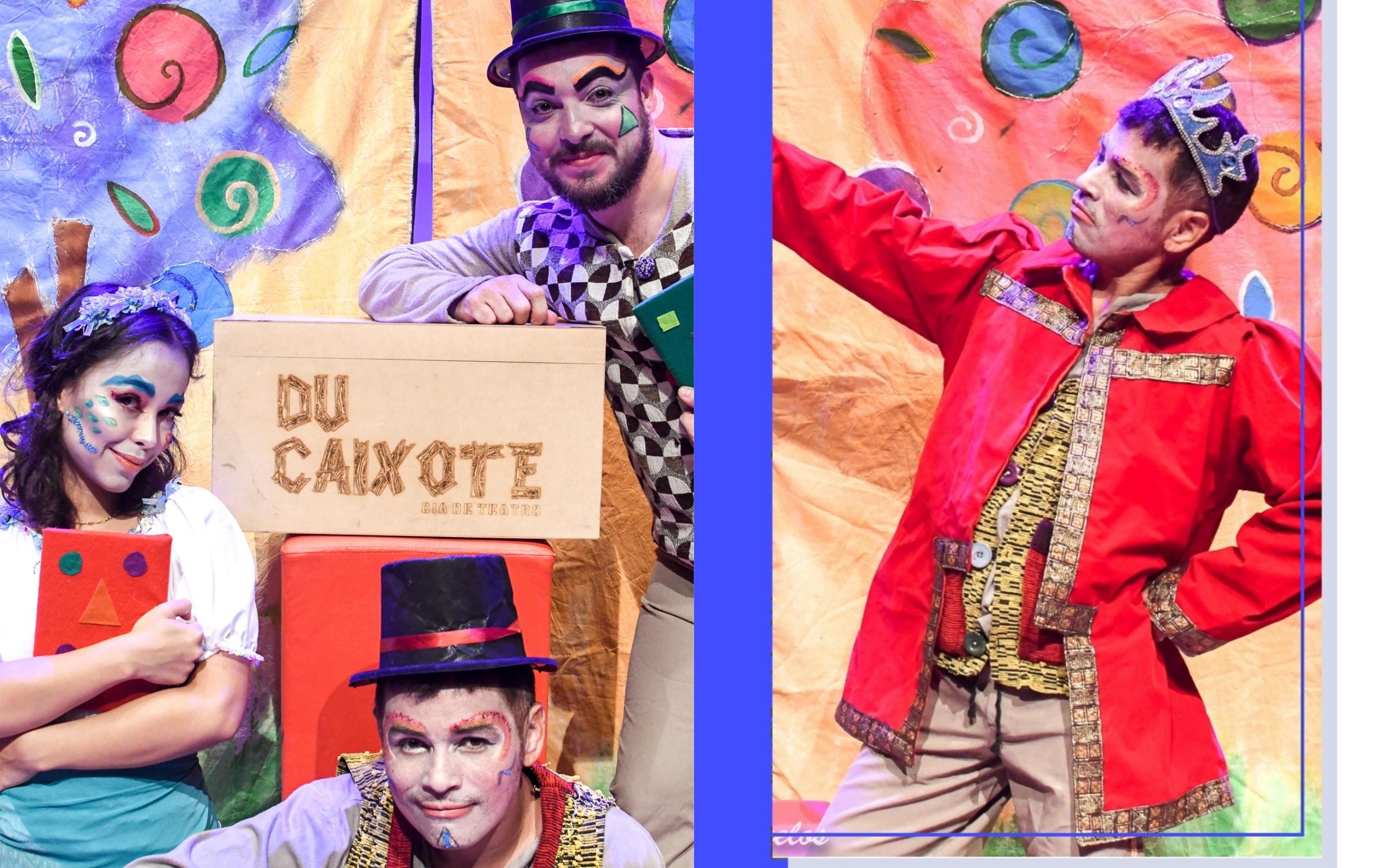 Teatro Goiânia recebe peça 'Histórias Du Caixote'