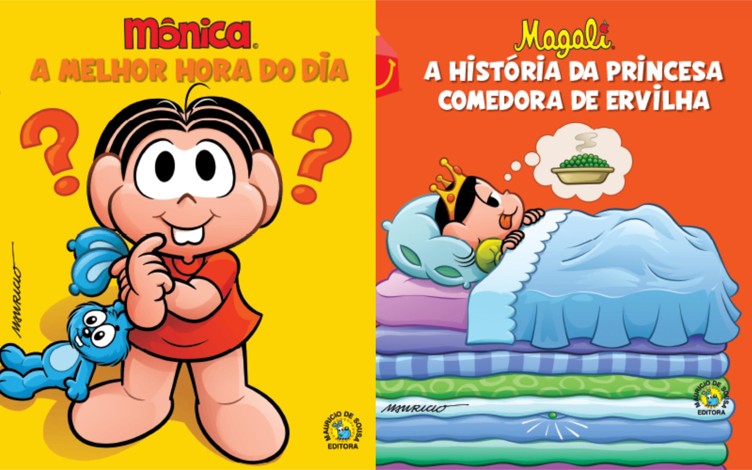 McDonald's vai distribuir livros da Turma da Mônica para incentivar a leitura