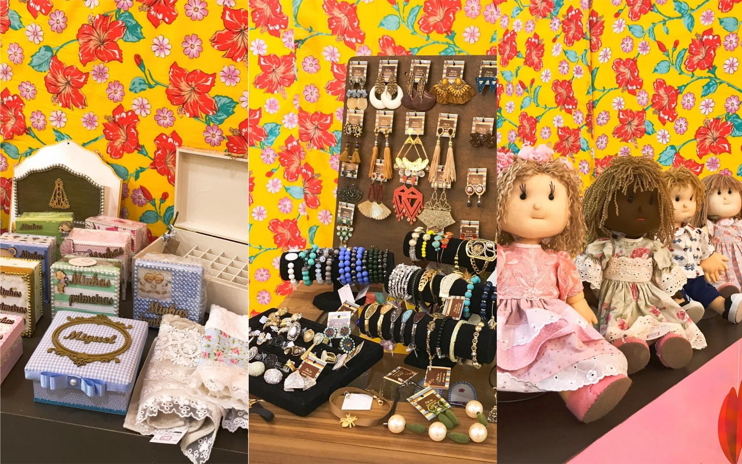 Loja Colaborativa de shopping em Goiânia recebe a Feirinha do Coração