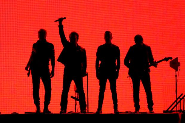 Executiva no Palco apresenta U2 Cover