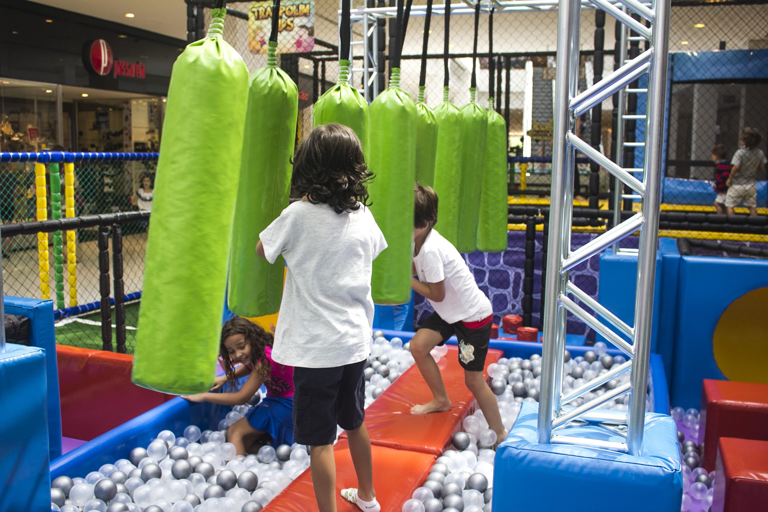 Buriti Shopping recebe espaço Olimpíadas Kids para estimular esporte