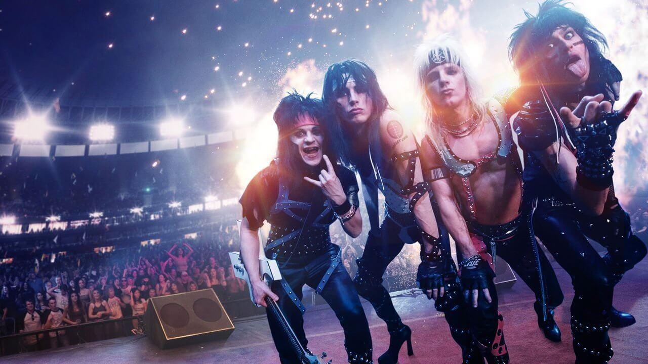 Filme do Mötley Crüe é divertido e comprova irrelevância musical da banda