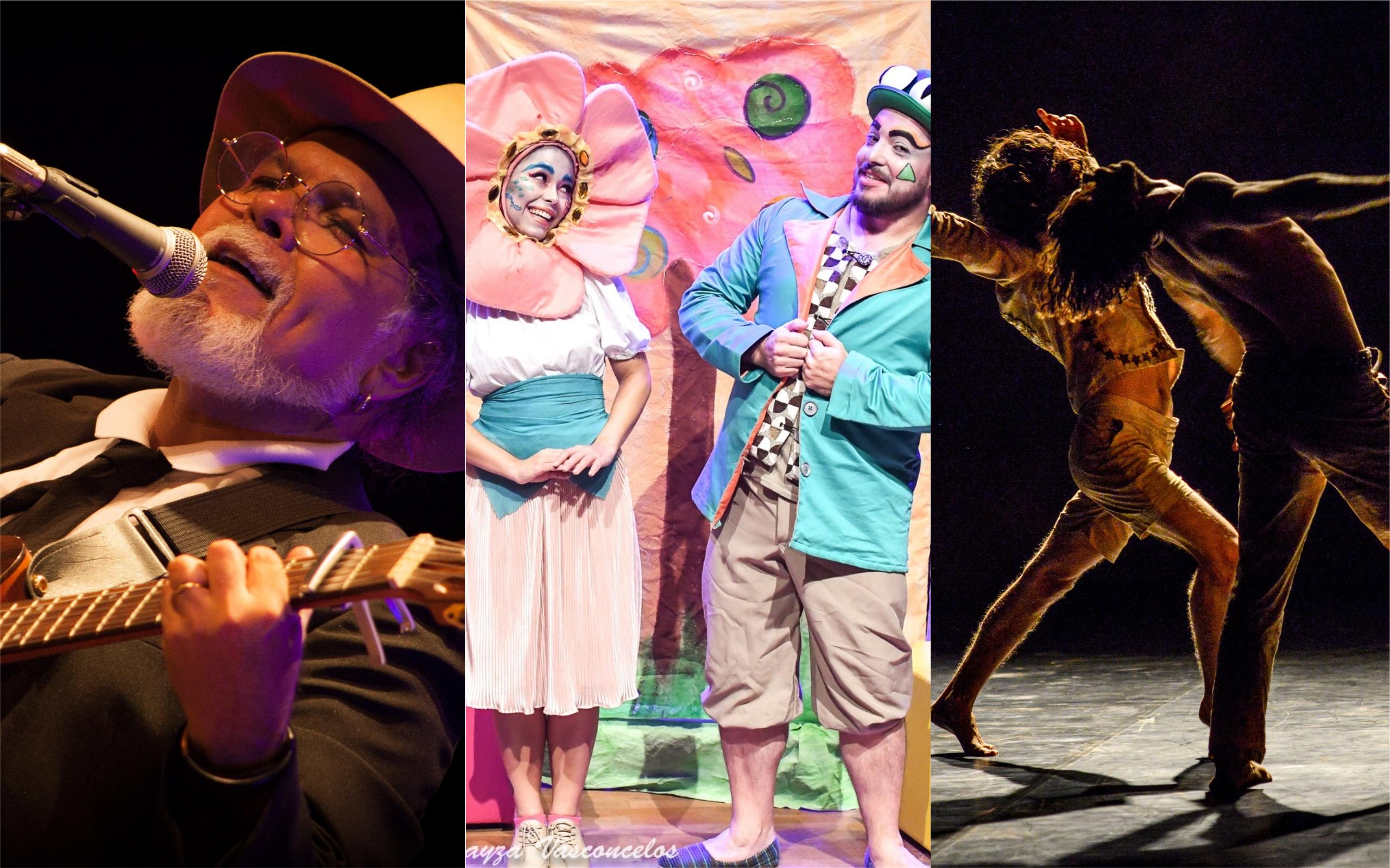 Confira a programação do Teatro Sesc Centro em abril