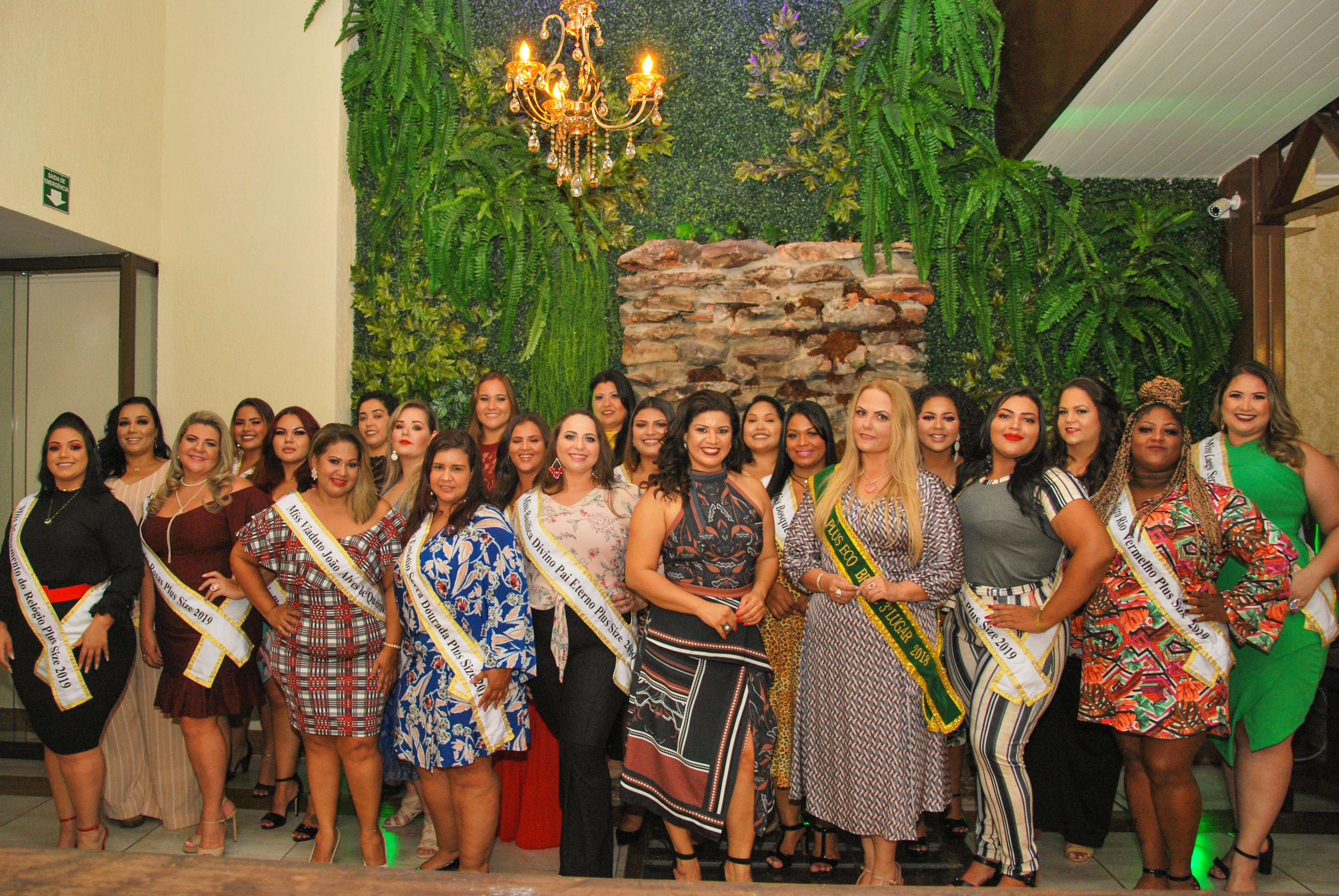 Concurso Miss Plus Eco Goiás 2019 está com inscrições abertas