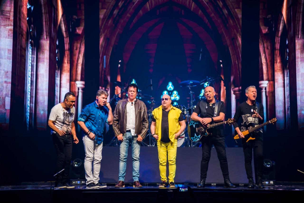 Roupa Nova faz show especial em Goiânia