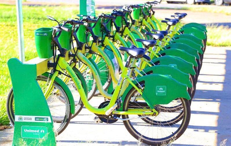 Goiânia ganha mais quatro estações de bicicletas compartilhadas