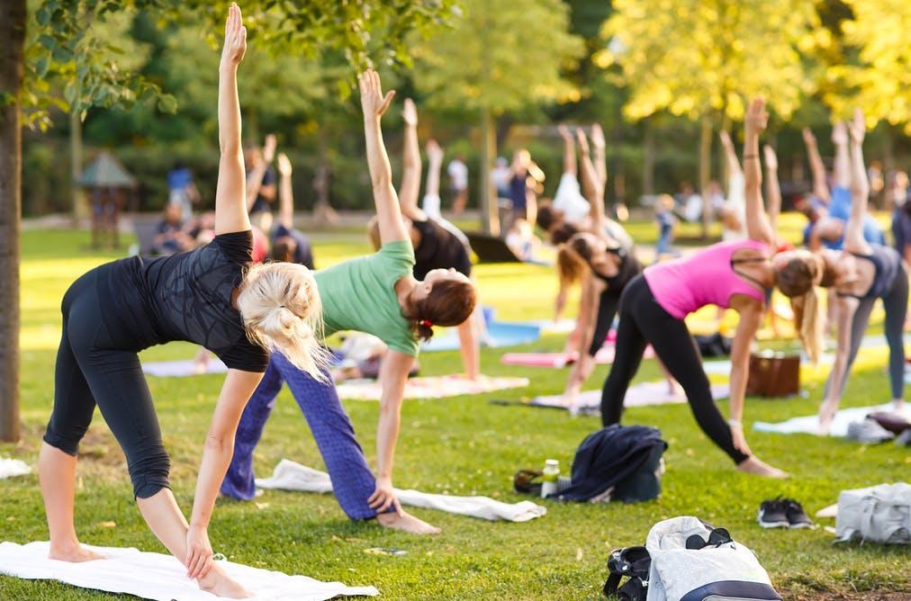 Parque Flamboyant recebe aulão de Yoga e HIIT neste sábado (29)