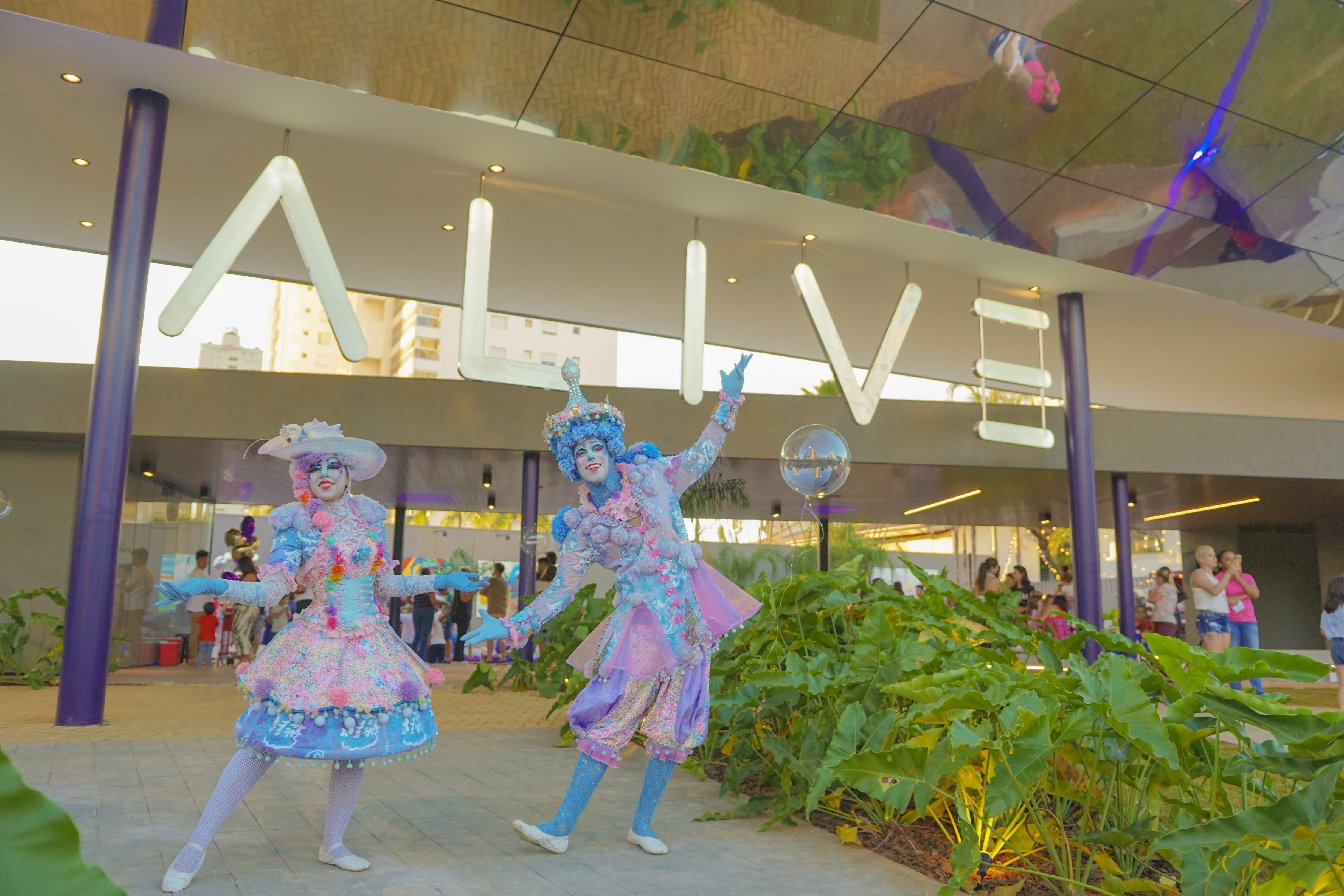 Espaço Alive oferece atividades gratuitas para crianças em Goiânia