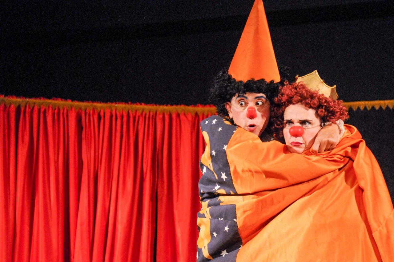 Flamboyant recebe última apresentação do Teatro no Garden com a peça 'Luas e Luas'