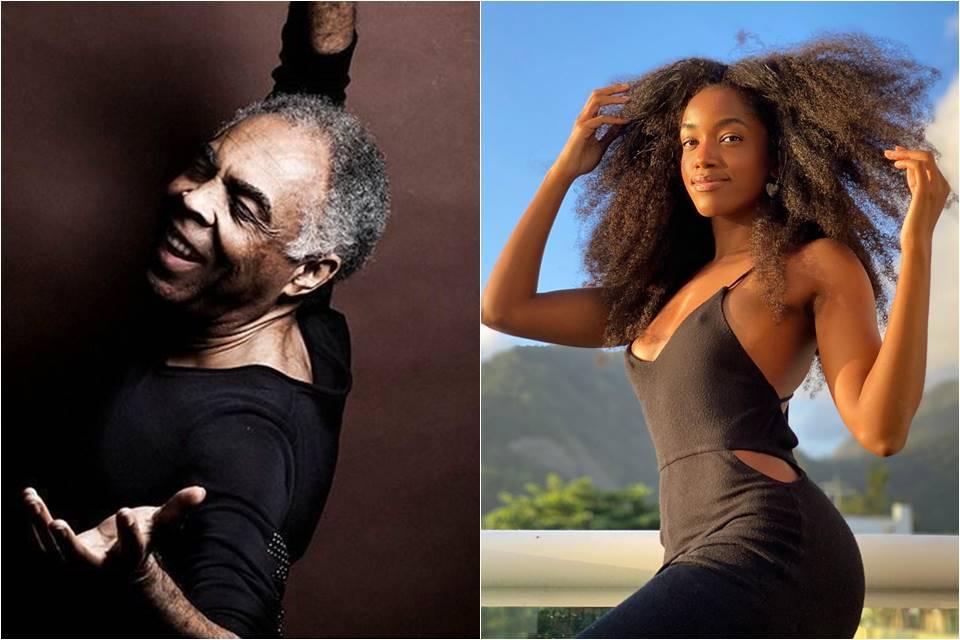 Gilberto Gil e Iza fazem live inédita juntos para arrecadar doações no combate à fome
